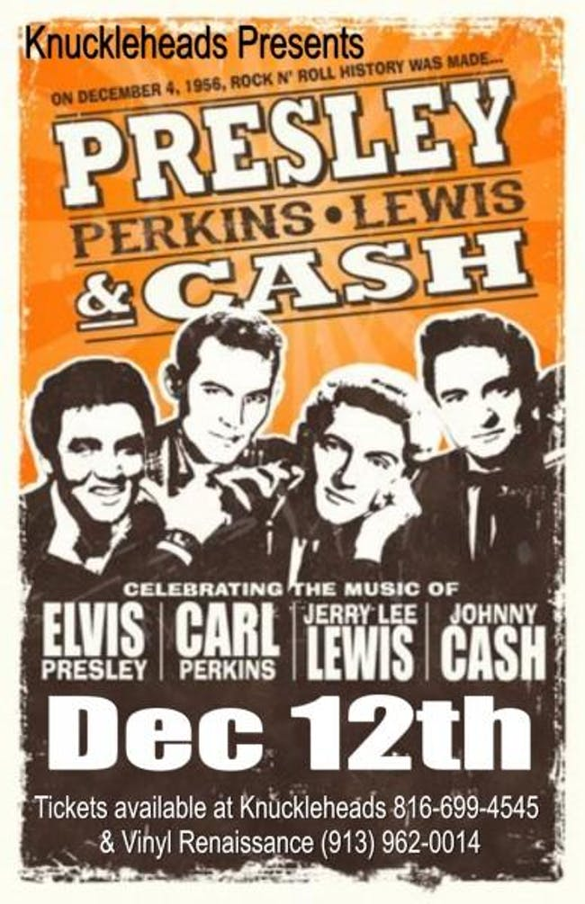 Presley, Perkins, Lewis, and Cash - A Million Dollar Christmas