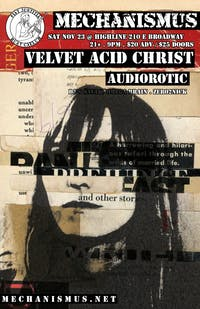 Mechanismus Presents Velvet Acid Christ / Audiorotic