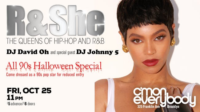 R & She NYC : 90s Halloween Special!