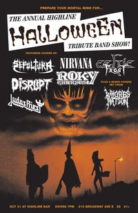 Halloween tribute band show!