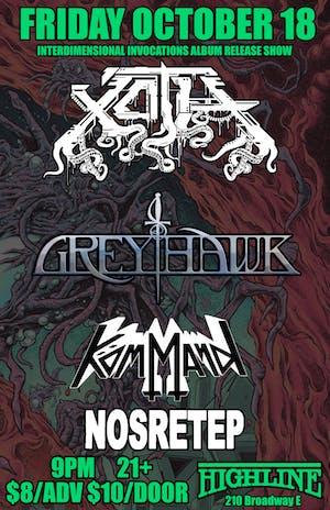 Xoth, Greyhawk, Kommand, Nosretep