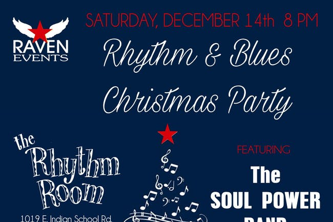 Raven's Rhythm and Blues Christmas Party