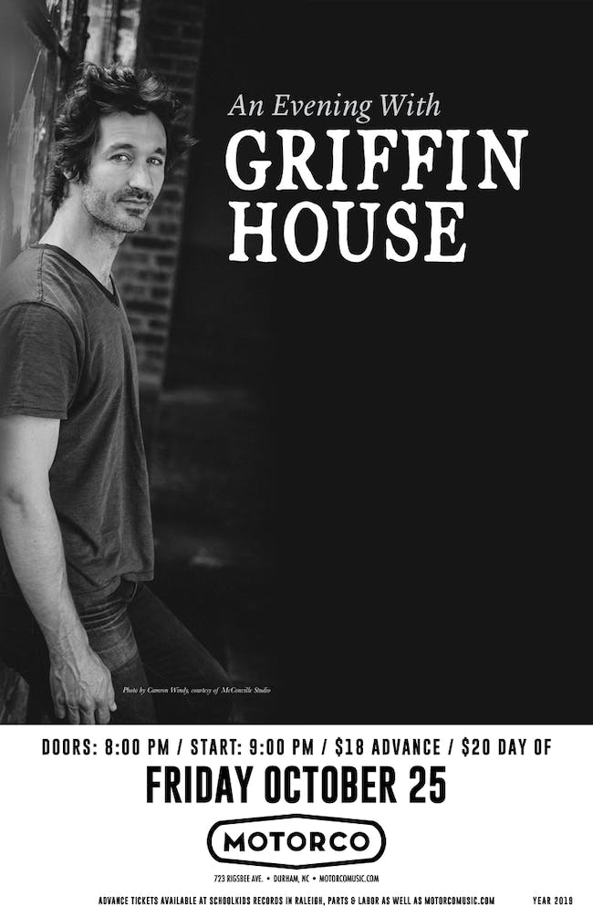 An Evening With GRIFFIN HOUSE