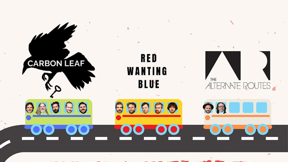 CARBON LEAF / Red Wanting Blue / The Alternate Routes