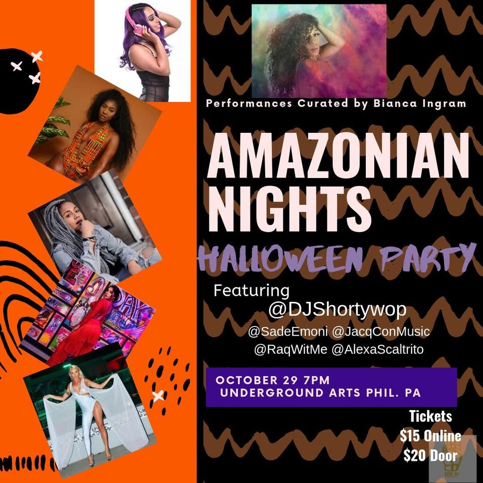 Amazonian Nights Halloween Party