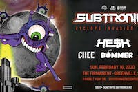 Subtronics with HE$H BOMMER CHEE and LEVEL UP | 2.16.20