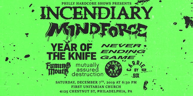Incendiary at the First Unitarian Church