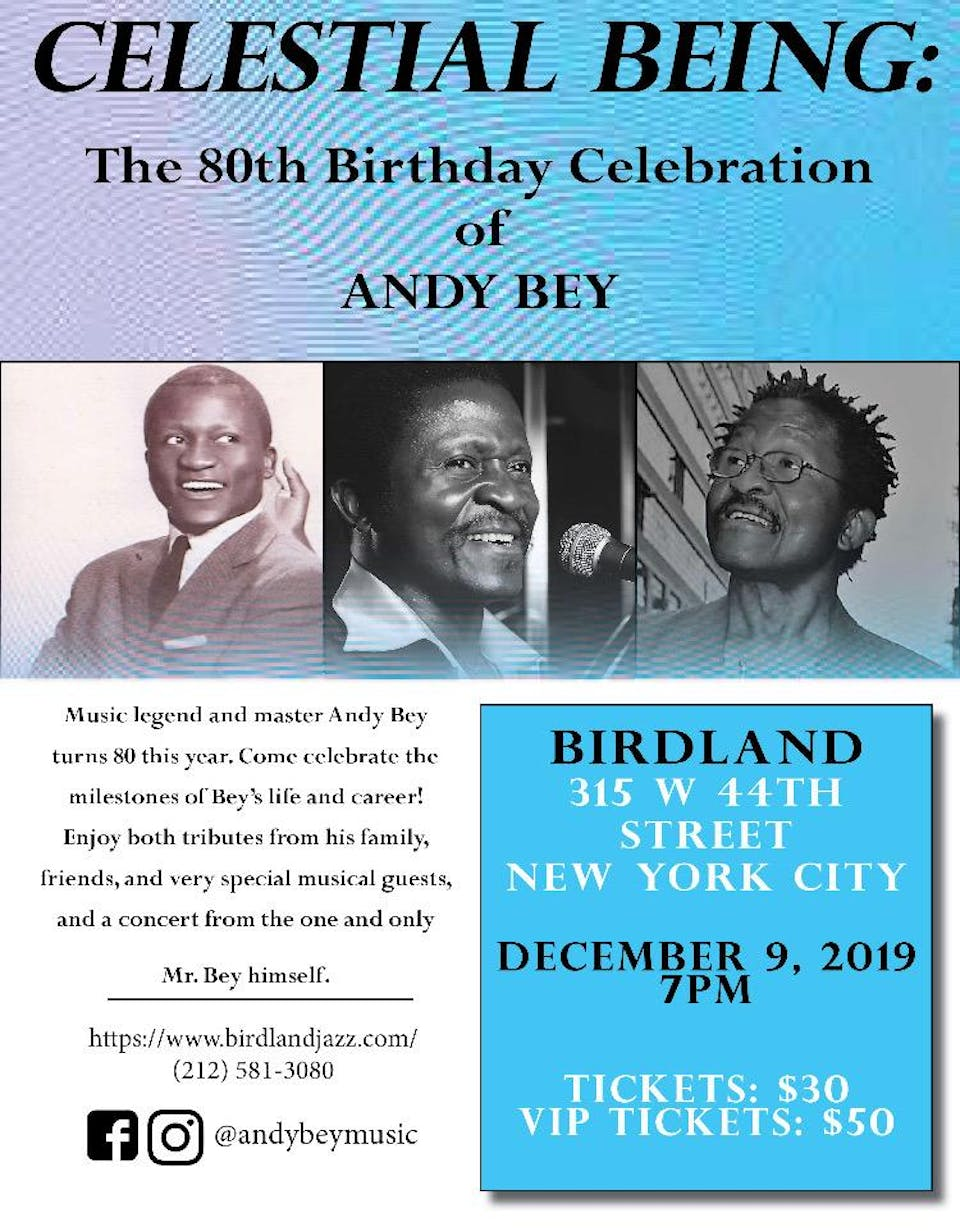 Celestial Being: The 80th Birthday Concert Celebrating Andy Bey