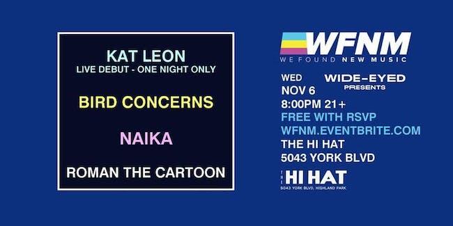 Kat Leon, Bird Concerns, Naika, Roman The Cartoon