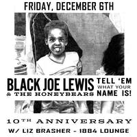 Black Joe Lewis w/ Liz Brasher