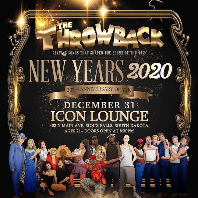 THE THROWBACK PARTY PRESENTS: THROWBACK NYE @ ICON LOUNGE