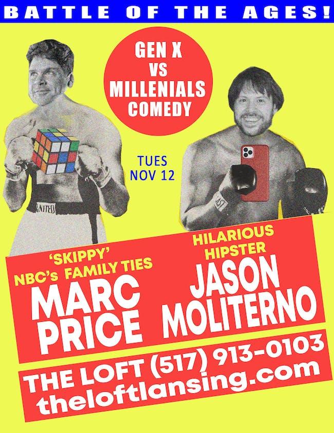 Gen X vs Millennials Comedy Tour