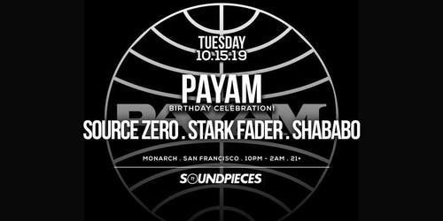 PAYAM . SOURCE ZERO . STARK FADER . SHABABO — Soundpieces SF