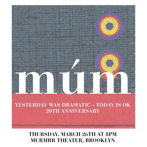 """Múm: """"Yesterday Was Dramatic—Today is OK"""" (20th anniversary)"""