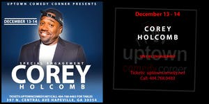 COREY HOLCOMB- SPECIAL ENGAGEMENT (No Groupons Or Passes)