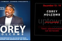 COREY HOLCOMB- SPECIAL ENGAGEMENT