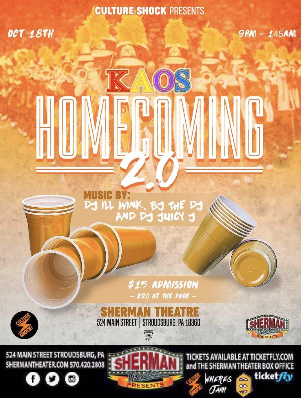Kaos Homecoming 2019