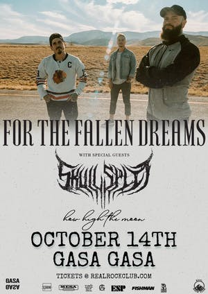 For The Fallen Dreams, Skullspit, How High The Moon