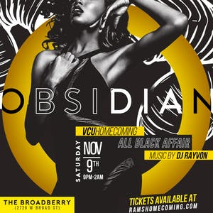 Obsidian - VCU Homecoming All Black Affair