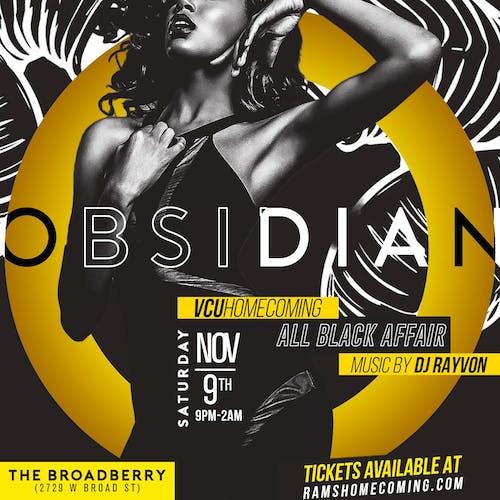 Obsidian - VCU Homecoming All Black Affair