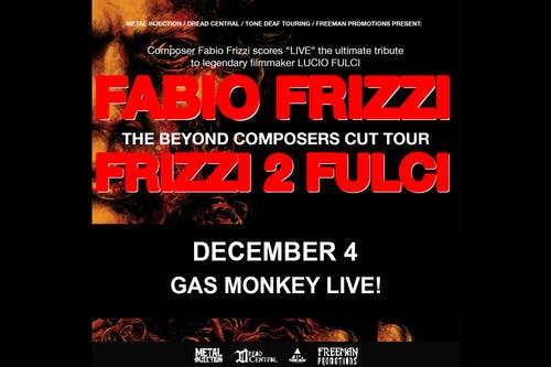 """Fabio Frizzi Plays The Soundtrack Of """"The Beyond"""""""