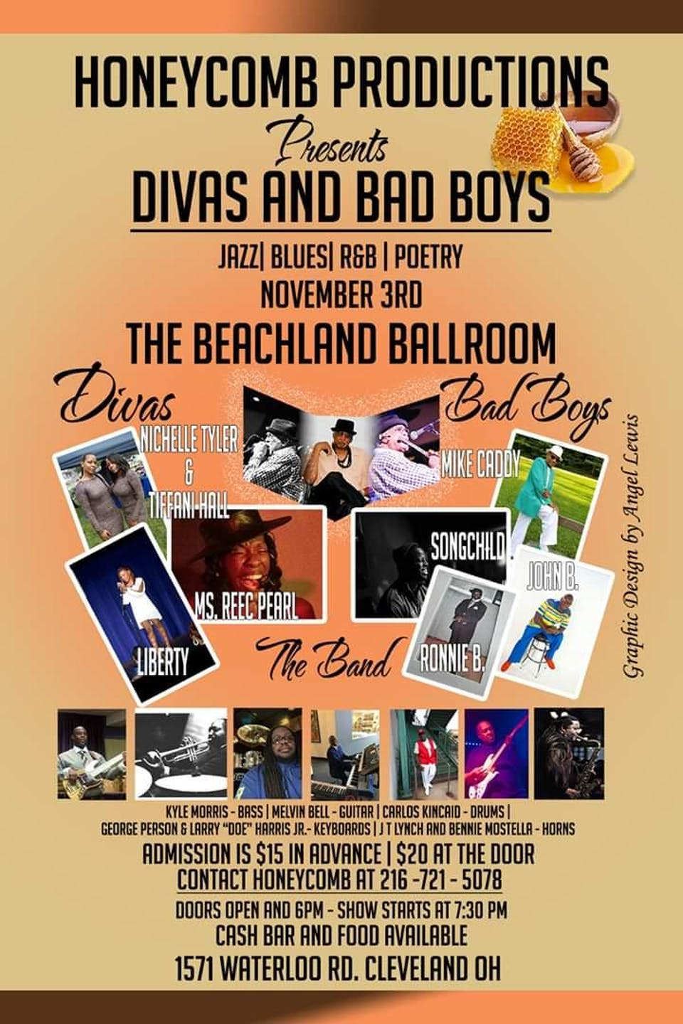 Divas and Bad Boys feat. Nichelle Tyler & Tiffani Hall, Mike Caddy, & more