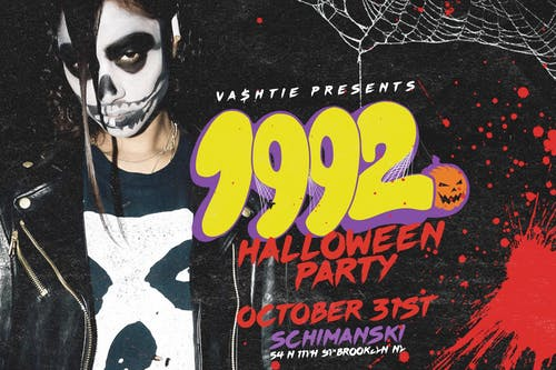 Vashtie Presents: 1992 Halloween Party