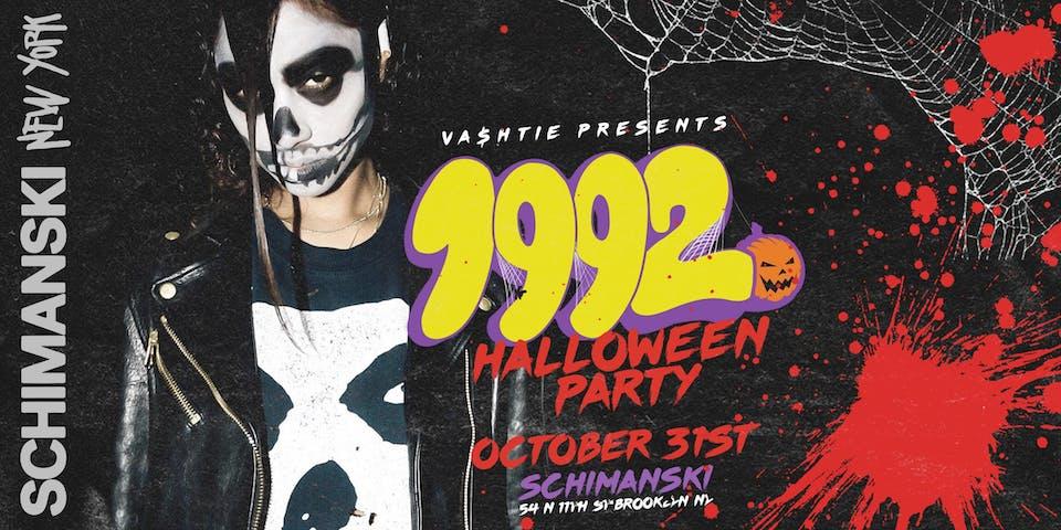 Vashtie Presents: 1992 Halloween Party