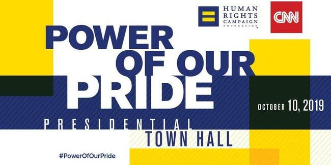 Power Of Our Pride : Presidential Town Hall *viewing party*