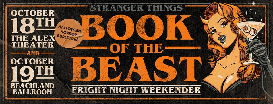 Stranger Things: Book of the Beast Fright Night Weekender