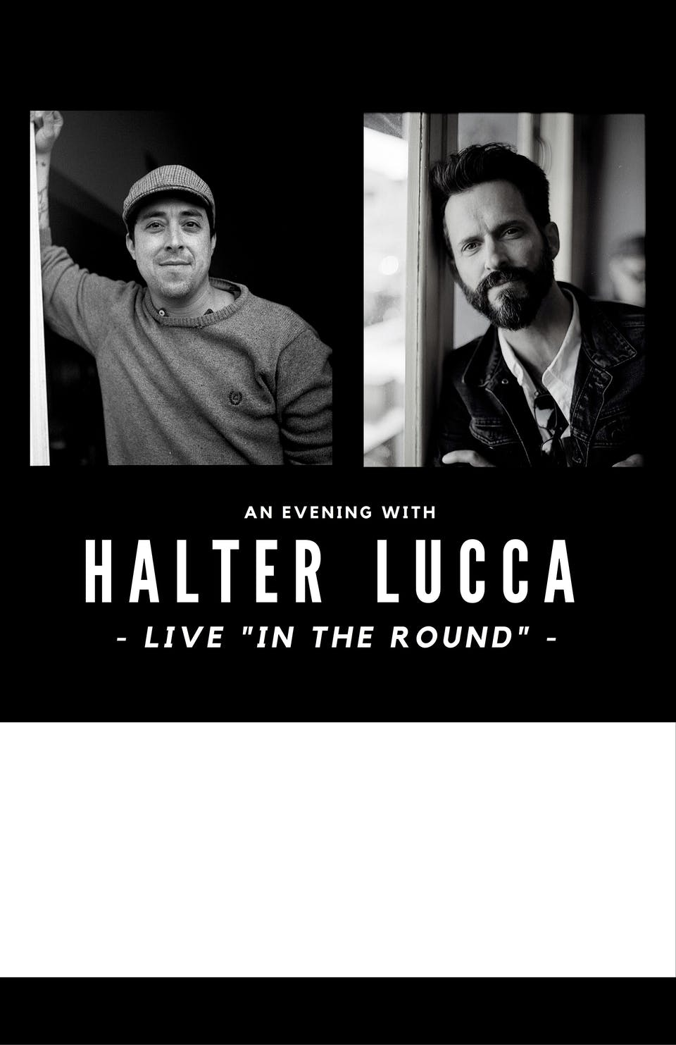 An Evening with Tony Lucca + Ernie Halter