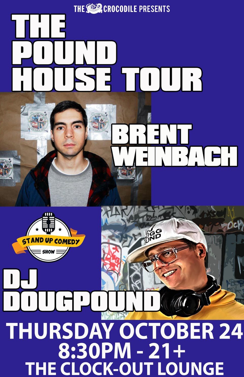 The Pound House Tour : Brent Weinbach and DJ Douggpound