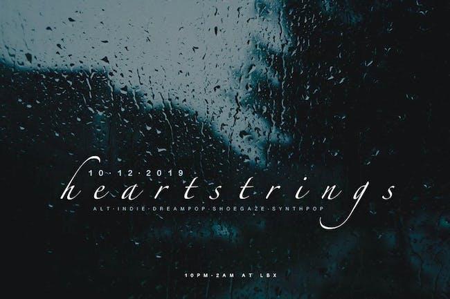 HEARTSTRINGS: Alt indie dreampop shoegaze synthpop dance night