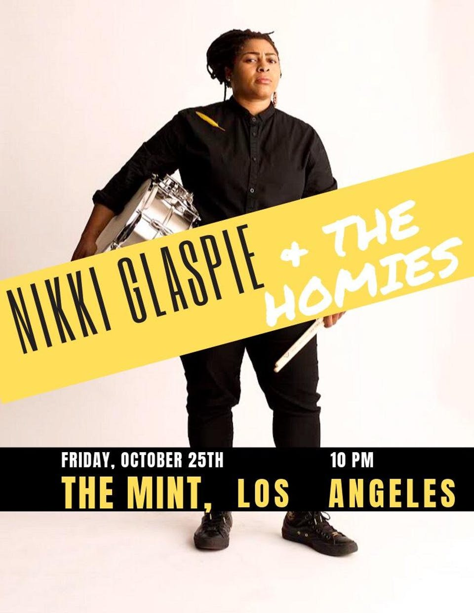 Nikki Glaspie & The Homies, Jammin Jellies, Mission to Midnight, DJ Hot Tub