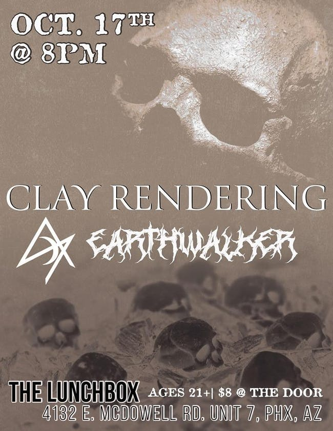Clay Rendering // Earthwalker // AON