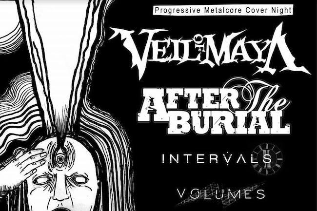 Progressive Metal Cover Night