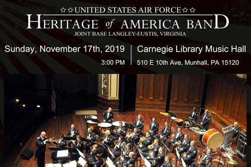 An Evening With The United States Air Force Heritage of America Band