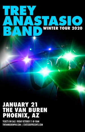TREY ANASTASIO BAND - WINTER TOUR 2020