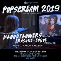 POPSCREAM 2019 - an 80s Halloween Party w/ THE CURE  and ERASURE