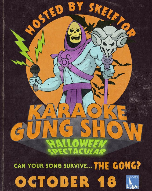 Karaoke Gung Show Halloween Spectacular