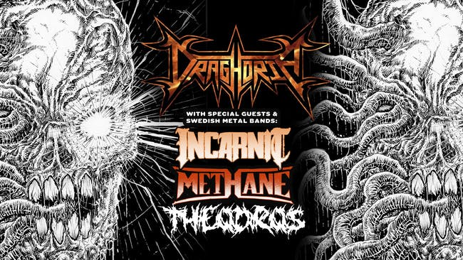 Draghoria with Swedish Metal Bands: Incarnit & Methane, and Theodros