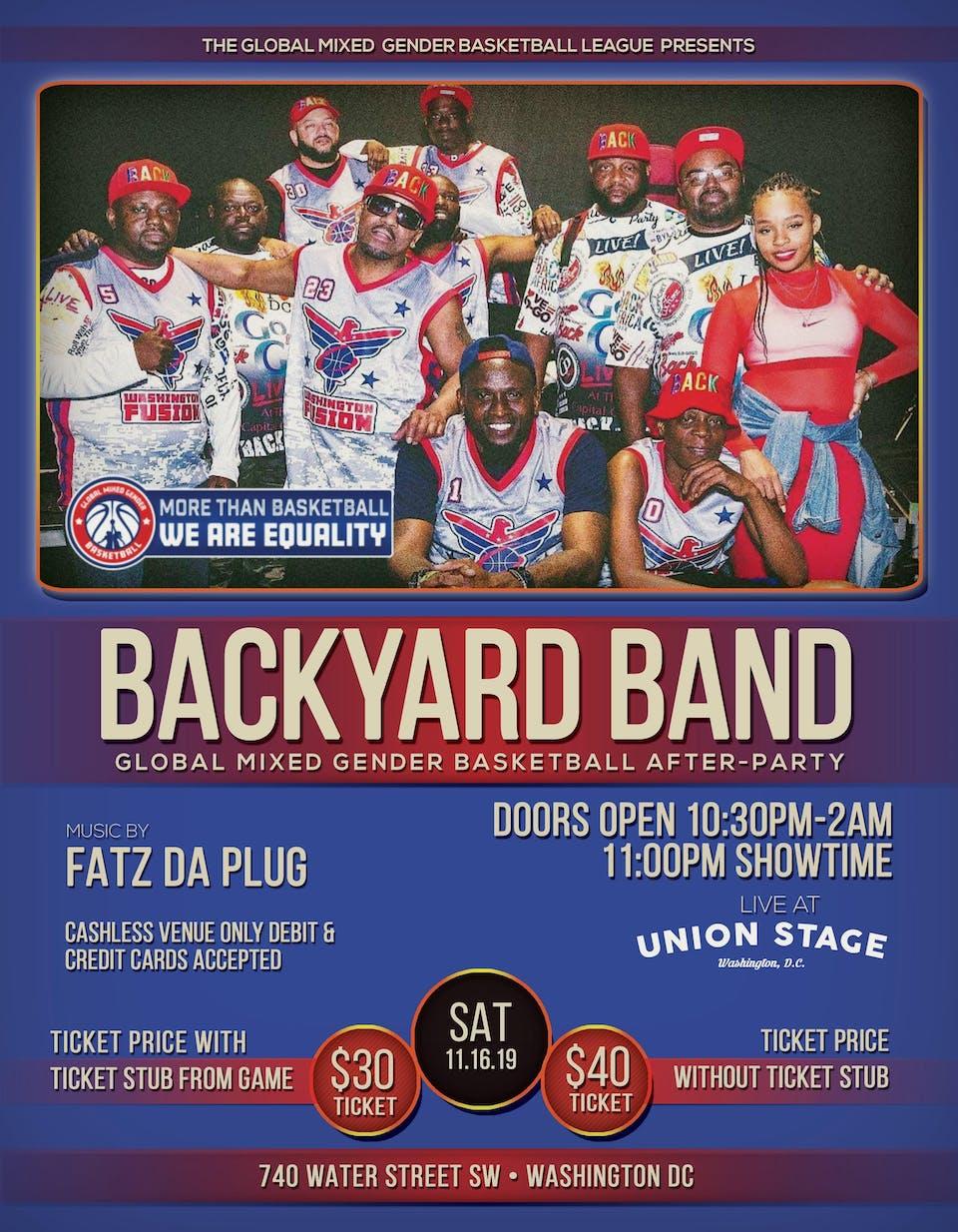 Backyard Band with music by Fatz Da Plug