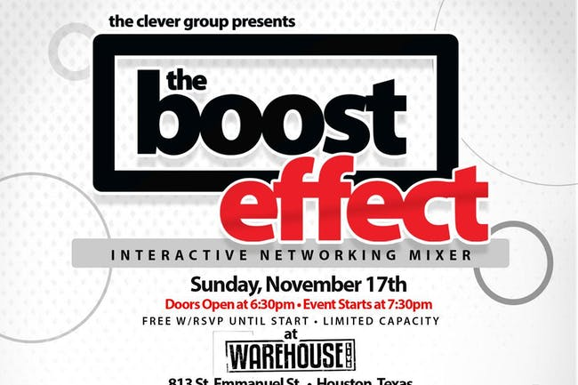 THE BOOST EFFECT FEAT. GUEST SPEAKER JOY YOUNG