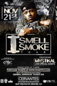 Mystikal - I Smell Smoke Tour w/ Special Guests