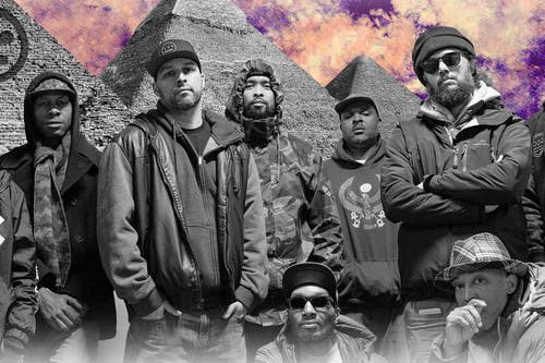 HIEROGLYPHICS, Rap Noir, Slap Frost Revue, DJ Matrox