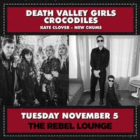 DEATH VALLEY GIRLS / CROCODILES