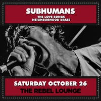 SOLD OUT: SUBHUMANS