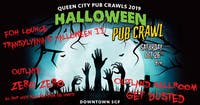 Get Dusted, Transylvania, Zero Zero - Halloween Pub Crawl