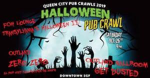 Copy of Get Dusted, Transylvania, Zero Zero - Halloween Pub Crawl