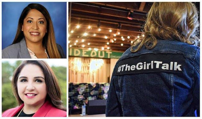 The Girl Talk:  Celina & Delia Edition